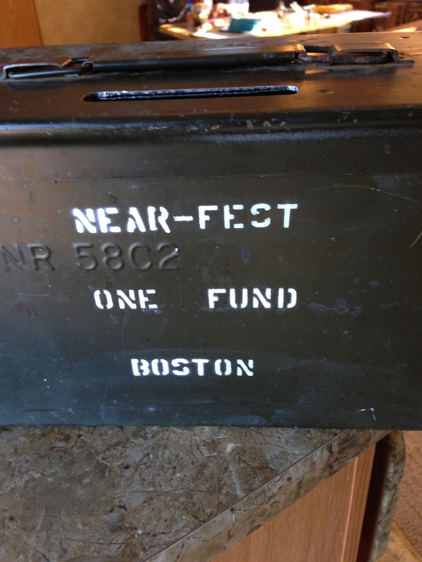 Near-Fest Fund Raised for the One Fund Boston